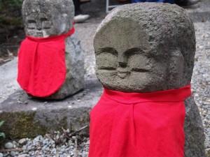天台寺の石仏