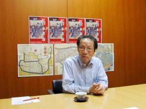 江戸文化研究家の菅野俊輔さん