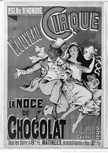 『ショコラの結婚』の宣伝ポスター(©BNF)