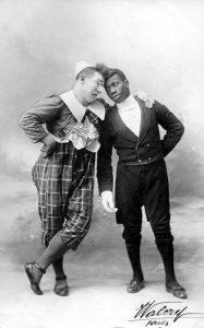 フティットとショコラの珍しいコンビ写真(©CIRCOPEDIA)